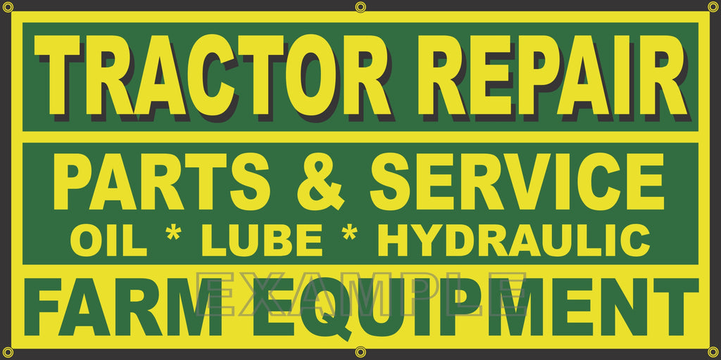 MOTORCYCLE REPAIR Banner Sign Yellow with Red /& Black