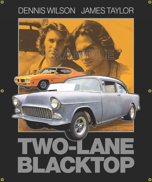 CUSTOM MOVIE CAR BANNERS VARIOUS SIZES AND DESIGNS