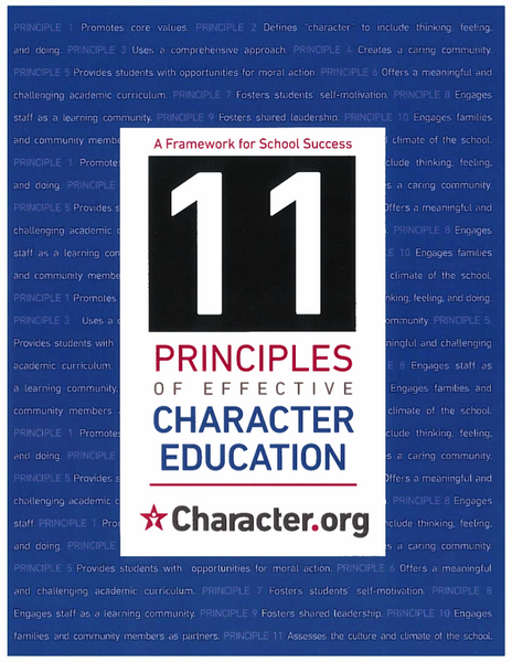 11 Principles of Effective Character Education