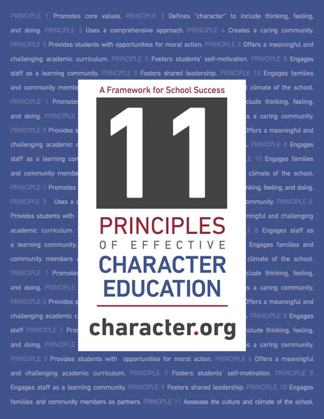 11 Principles of Character Education-Digital Download