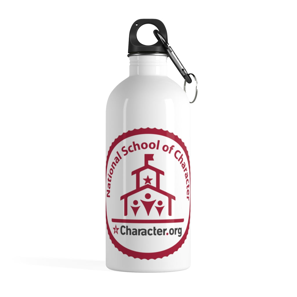 National School of Character - Stainless Steel Water Bottle