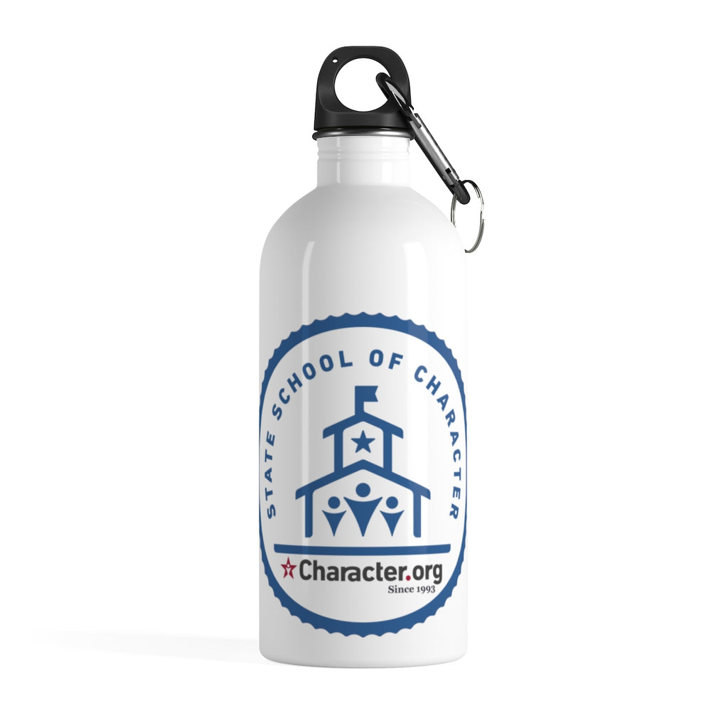 State School of Character - Stainless Steel Water Bottle