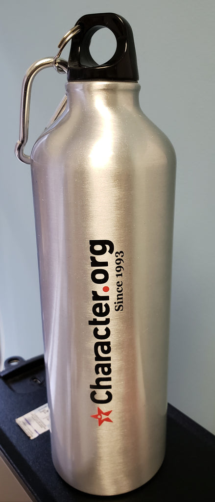 24 oz Character.org Aluminum Water Bottle