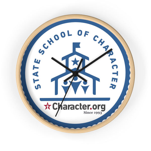 State School of Character - Wall clock