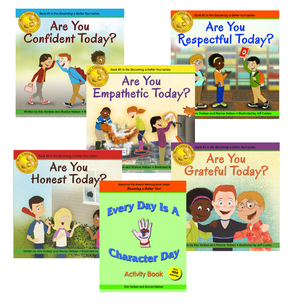 Becoming a Better You! series PLUS Every Day Is A Character Day Activity Book