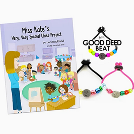 Miss Kate...Project Combo Pack (Book, One Bracelet, MP3 Song)