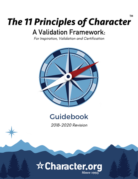 11 Principles of Character - Guidebook