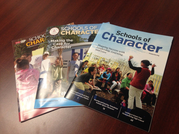Schools of Character Magazine 3-Pack