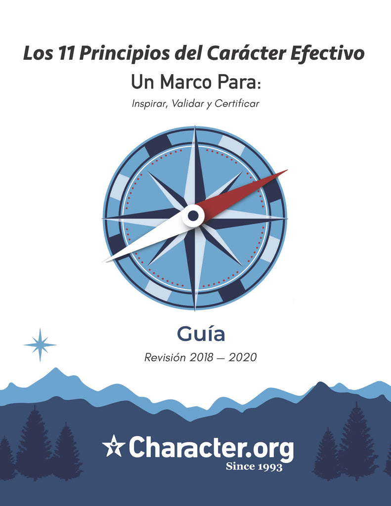 11 Principle of Character - Guidebook (Spanish)