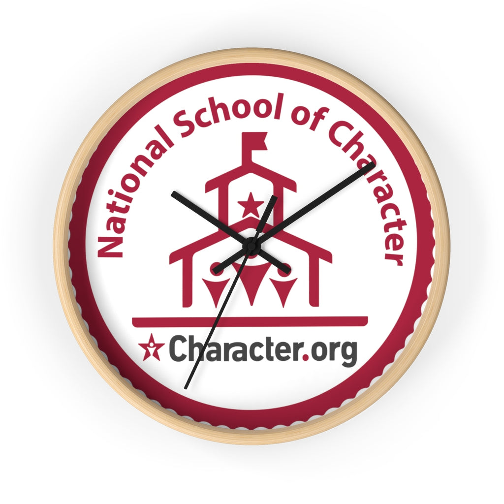 National Schools of Character - Wall clock