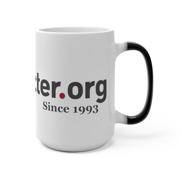 Character.org - Color Changing Mug