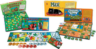 The COMPLETE Cooperative Games Bullying Prevention Program (Book plus four board game set)
