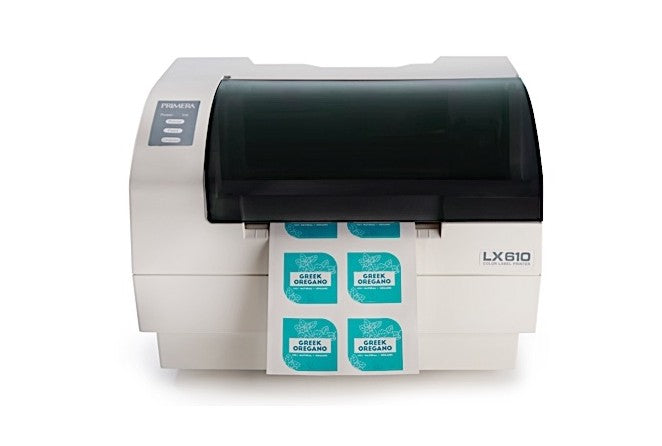 LX610 Color Label Printer with plotter/cutter