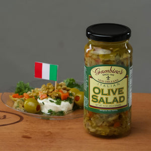 Traditional Italian Olive Salad