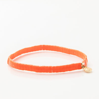 Caryn Lawn - Supernova Bracelet in Citrus Orange