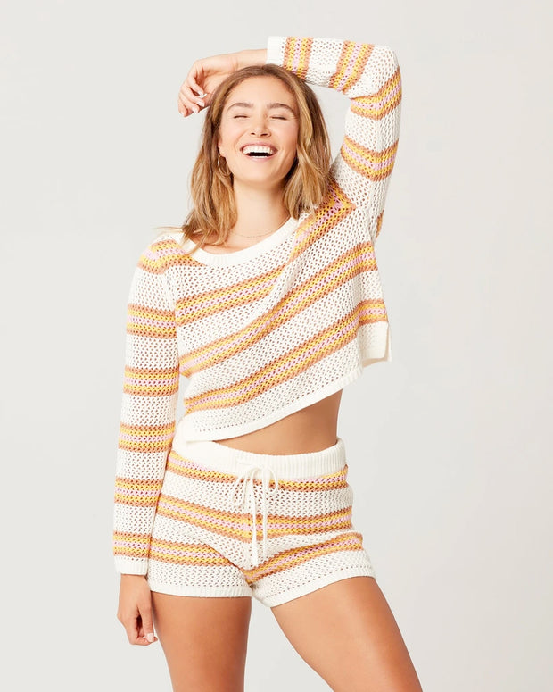 L*Space - On The Horizon Short in On The Horizon Stripe
