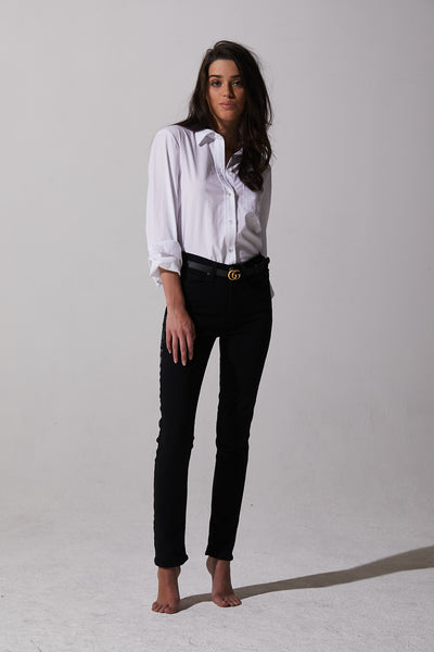 McGuire - Valletta Straight Black Tie Jeans