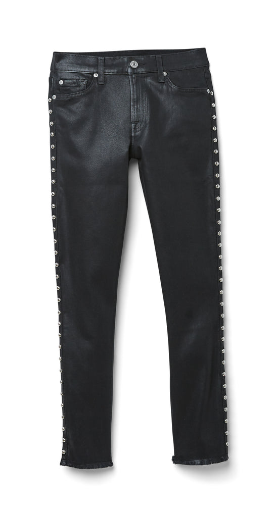 Seven for all Mankind - Ankle Skinny Black Studs