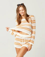 L*Space - On The Horizon Sweater in On The Horizon Stripe