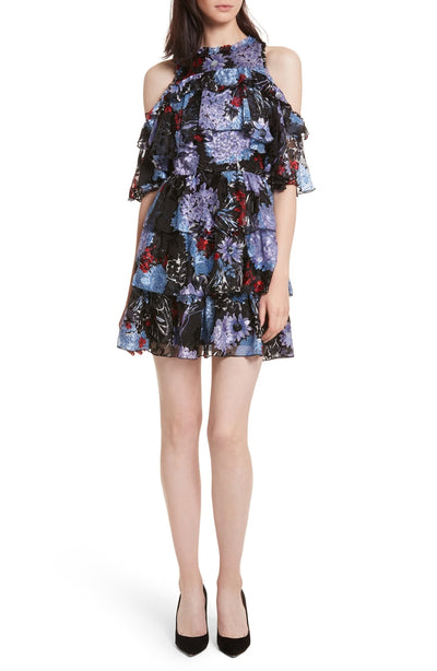 Alice + Olivia - Nichola Cold Shoulder Party Dress