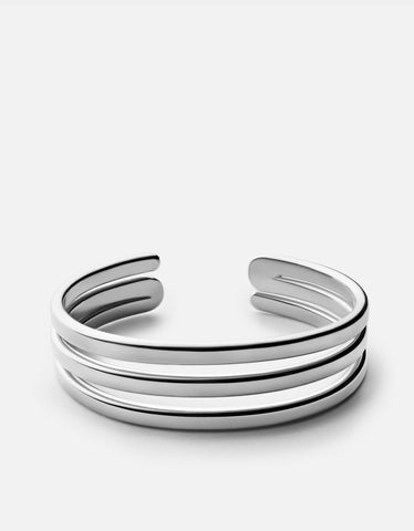 MIANSAI - Expo Cuff, Sterling Silver Polished