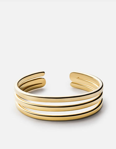 MIANSAI - Expo Cuff, Gold Polished