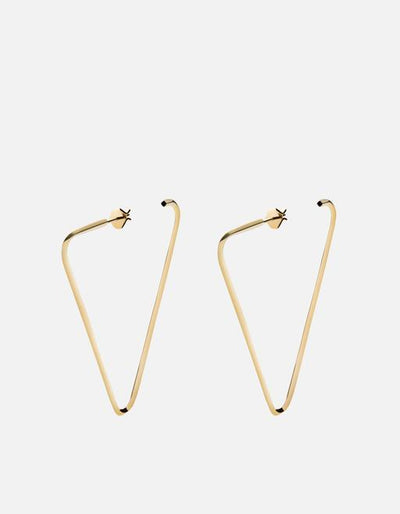 MIANSAI - Eden Earrings Gold Polished