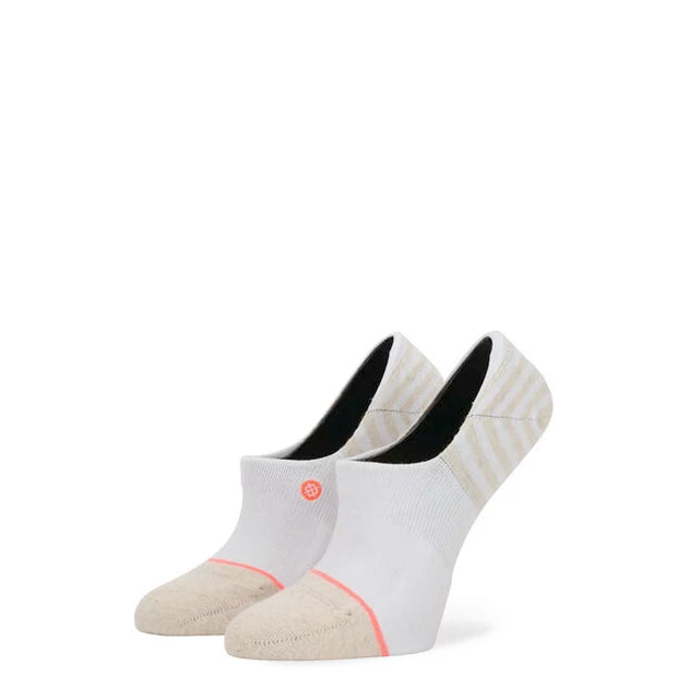 Stance - Sensible 3 Pack No-Show Socks in White