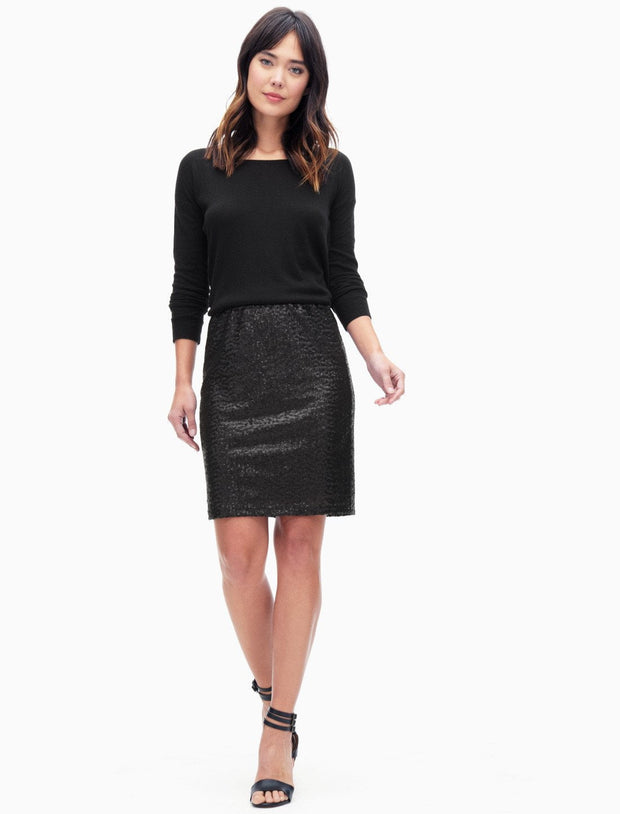 Splendid Splendid - Sequin Pencil Skirt at Blond Genius - 1