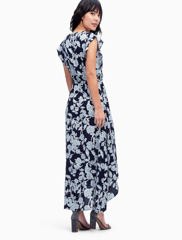 Splendid Splendid - Wrap Dress Style Navy at Blond Genius - 3