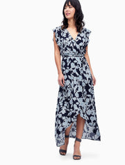 Splendid Splendid - Wrap Dress Style Navy at Blond Genius - 1
