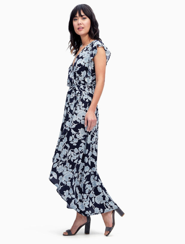 Splendid Splendid - Wrap Dress Style Navy at Blond Genius - 2