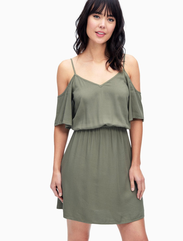 Splendid - Cold Shoulder Dress