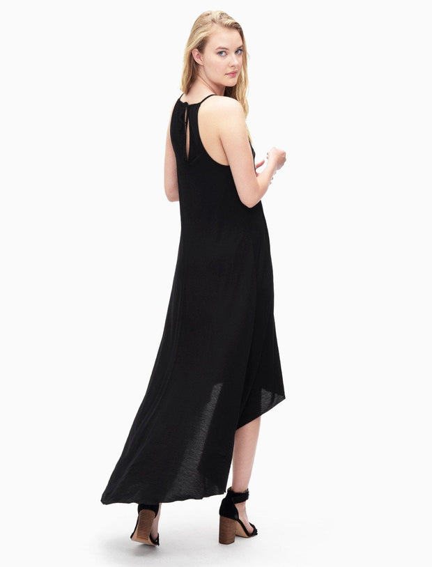 Splendid- V-Neck Dress Black