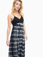 Splendid - Mesh Maxi Dress Black