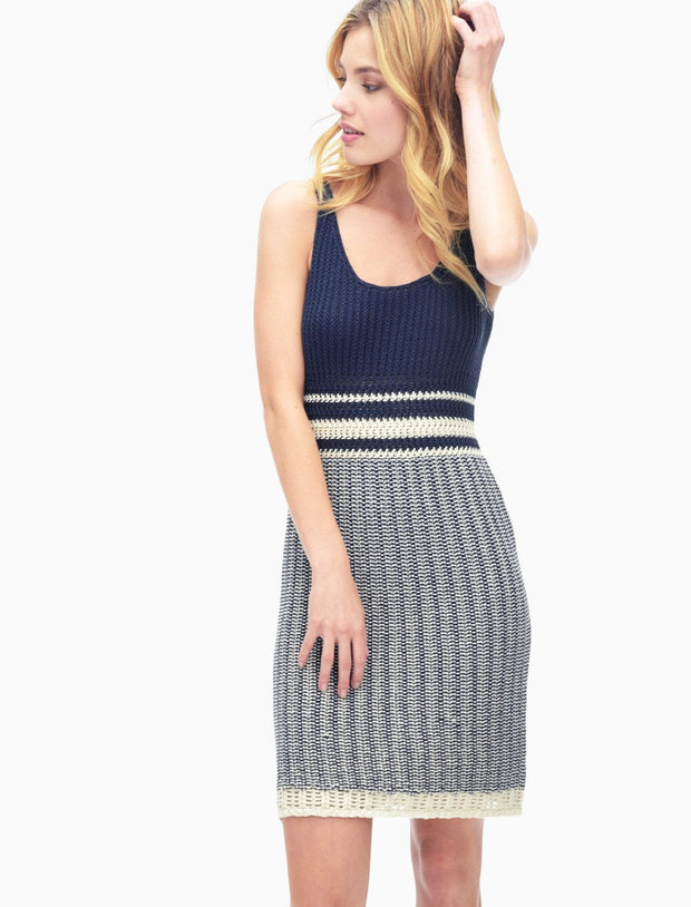 Splendid - Sweater Dress Navy/Cream