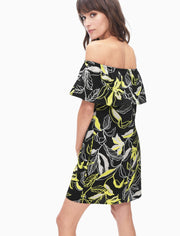 Splendid - Tropic Floral Off Shoulder Dress