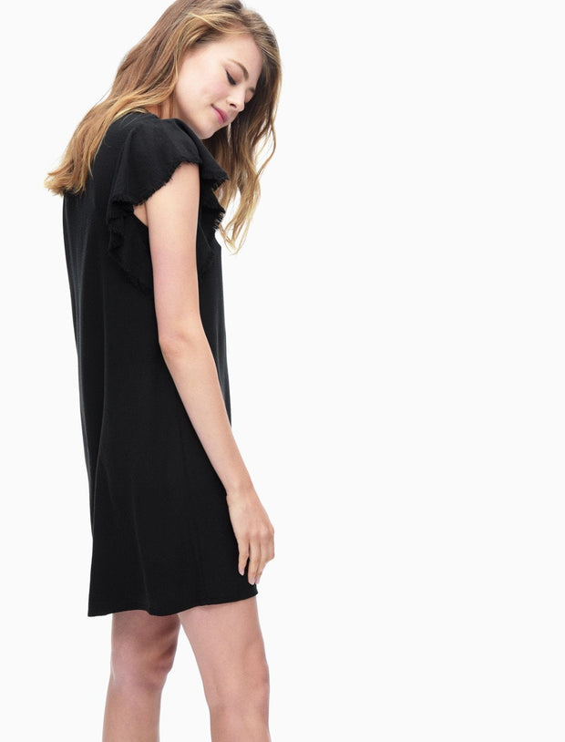 Splendid - Ruffle Dress Black