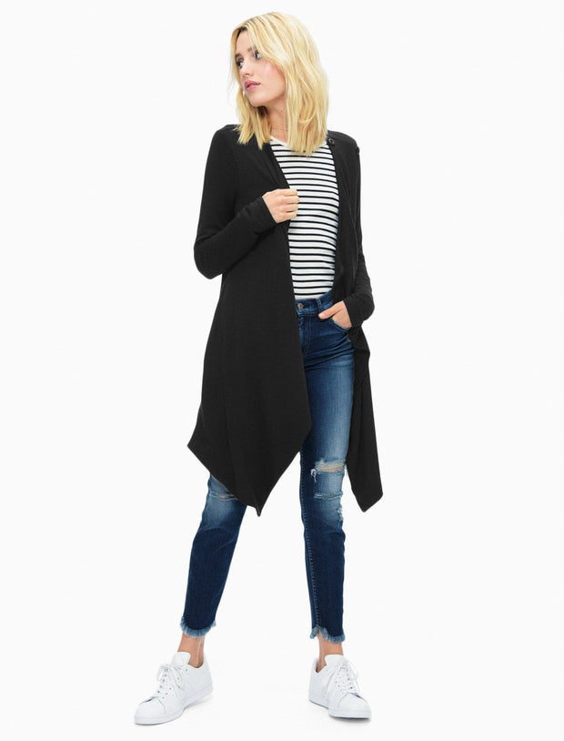 Splendid - Super Soft Brushed French Terry Crossover Cardi