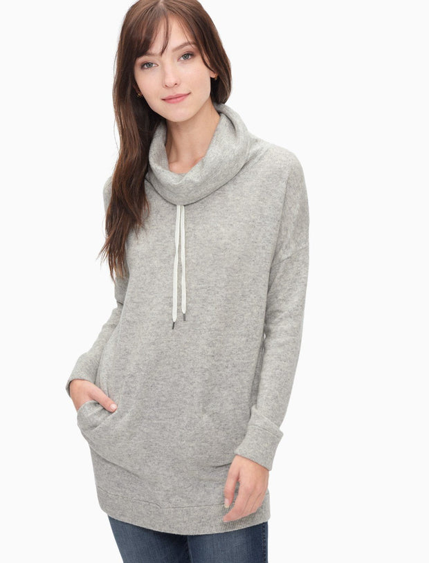 Splendid - Williamsburg Drawstring Turtleneck Sweater