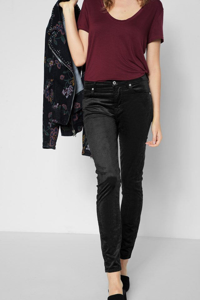 7 For All Mankind - Ankle Skinny Black