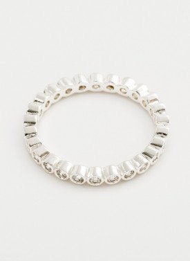 Gorjana - Candice Shimmer Ring Silver - Size 6