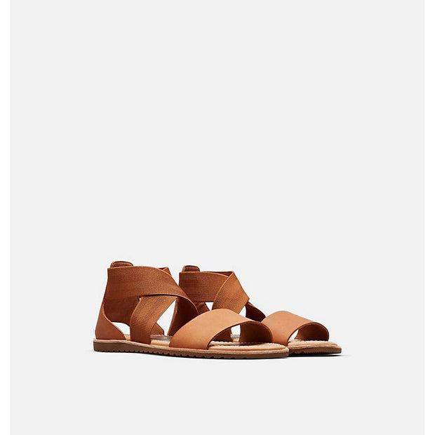 SOREL - Ella Sandal in Camel Brown