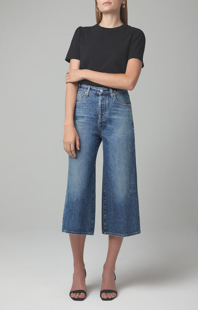 Citizens of Humanity Denim- Emily Relaxed Culotte in Favorite