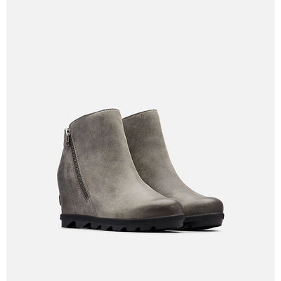 SOREL - Joan of Arctic Wedge II Zip in Quarry