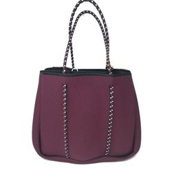 Annabel Ingall - Sporty Spice Neoprene Tote in Mulberry