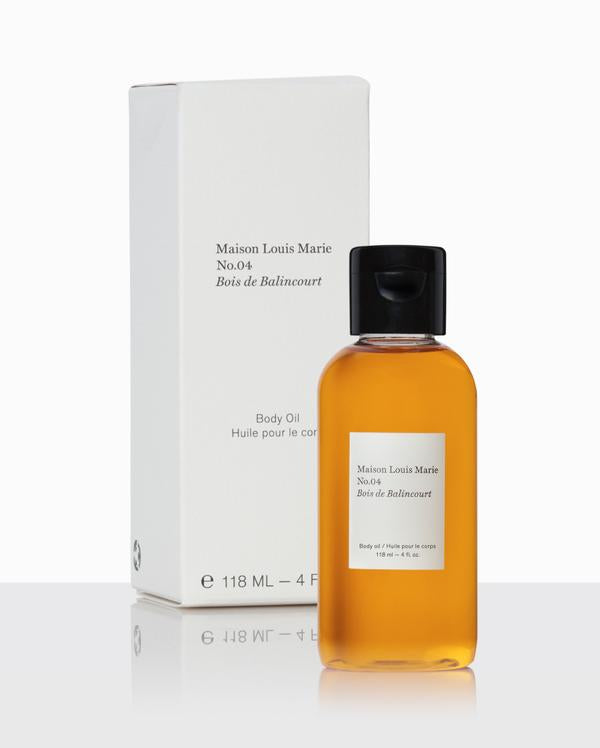 Maison Louis Marie - NO. 4 Bois de Balincourt Body Oil