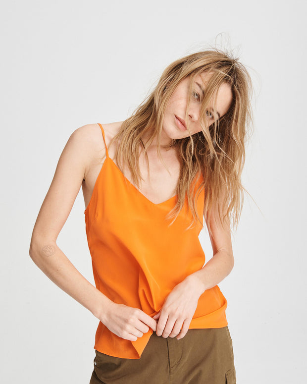Rag & Bone Collection - Astrid Cami in Bright Orange