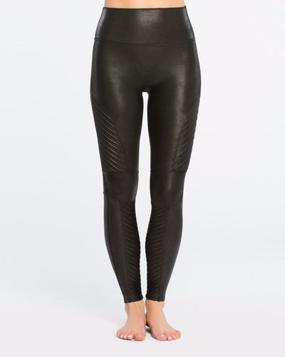 Spanx - Moto Leggings Black