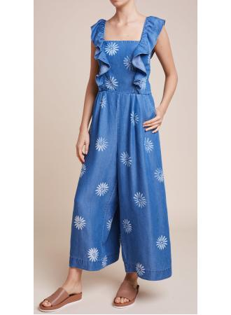Splendid - Dolce Jumpsuit in Mediterranean Wash